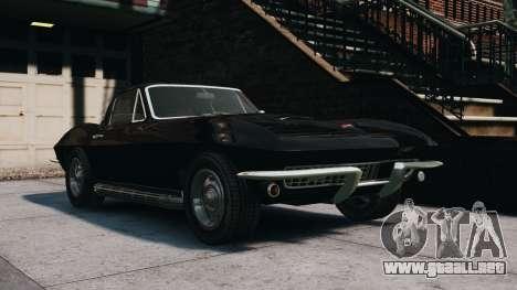 Chevrolet Corvette Stingray 427 1967 para GTA 4