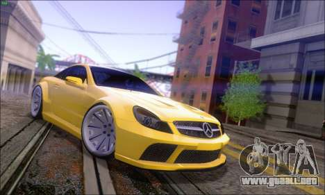 Mercedes-Benz SL65 AMG GB para GTA San Andreas left