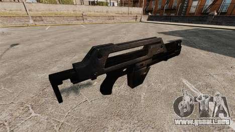 Rifle de pulso M41A para GTA 4 segundos de pantalla