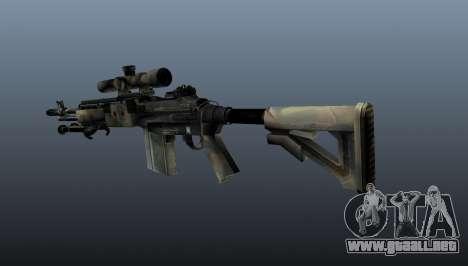 Rifle de francotirador M21 Mk14 v4 para GTA 4 segundos de pantalla
