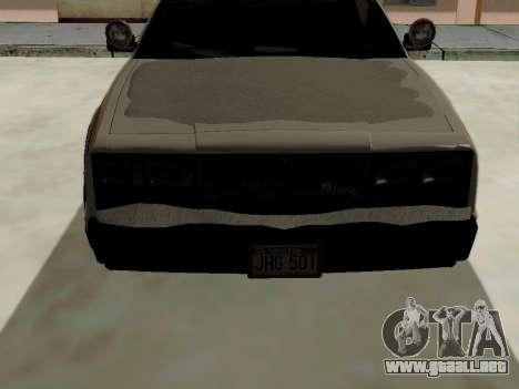 Norte Yanton policía Esperanto de GTA 5 para la visión correcta GTA San Andreas