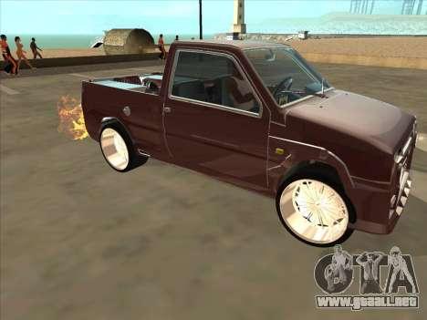 Oka VAZ 1111 para la vista superior GTA San Andreas