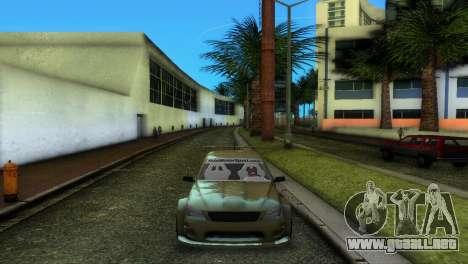 Lexus IS200 para GTA Vice City visión correcta