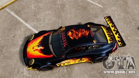 Porsche GT3 RSR 2008 Ddevil para GTA 4 visión correcta