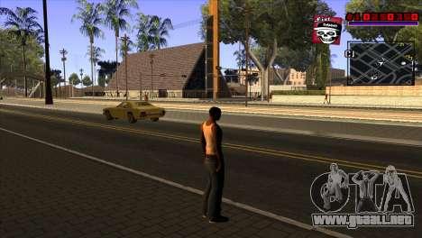 C-HUD Project Capture 6 para GTA San Andreas
