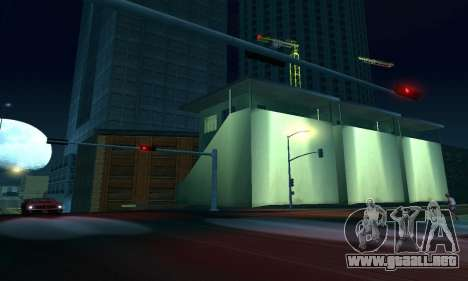 Terminó la construcción en San Fierro V1 para GTA San Andreas novena de pantalla