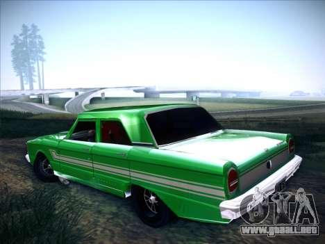 Ford Falcon Sprint para GTA San Andreas left