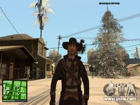 Ray Mccall Call Of Juarez para GTA San Andreas