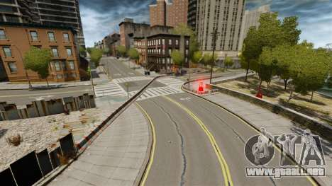 Liberty City Race Track para GTA 4 tercera pantalla