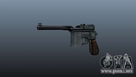 Mauser C96 pistola autocargable para GTA 4