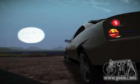 Fiat Coupe para la vista superior GTA San Andreas