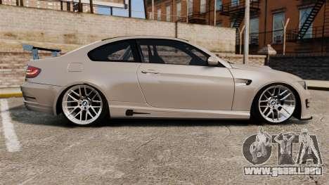 BMW M3 E92 GTS 2010 para GTA 4 left