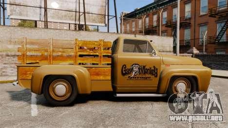 Hot Rod Truck Gas Monkey para GTA 4 left