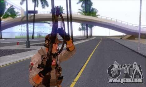 Engineer of Battlefield 4 para GTA San Andreas tercera pantalla