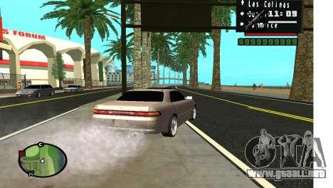 Callejón en LA para GTA San Andreas