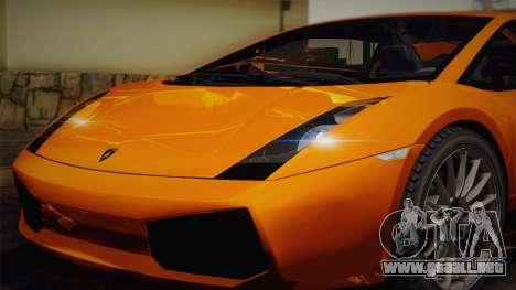 Lamborghini Gallardo Superleggera para el motor de GTA San Andreas