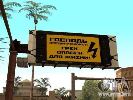 Nuevo parque BMX para GTA San Andreas segunda pantalla