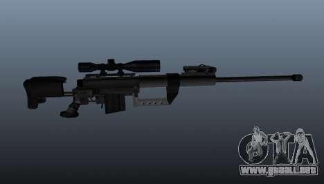 50 sniper rifle calibre para GTA 4 tercera pantalla