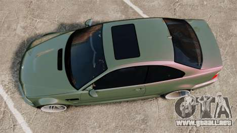 BMW M3 E46 para GTA 4 visión correcta