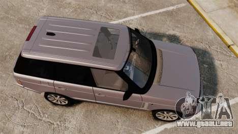 Range Rover Supercharged para GTA 4 visión correcta