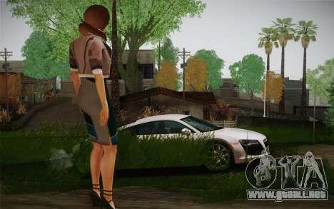 Remember Me Alexia para GTA San Andreas tercera pantalla