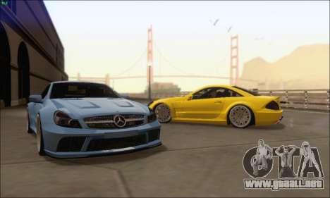 Mercedes-Benz SL65 AMG GB para la visión correcta GTA San Andreas