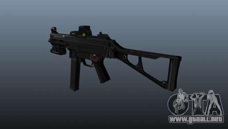 Submachine gun HK UMP 45 para GTA 4 segundos de pantalla