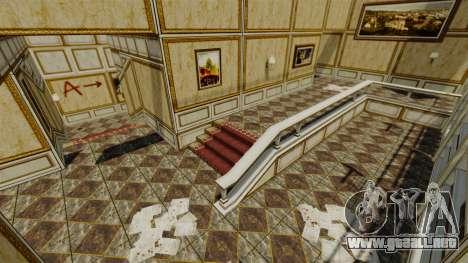 Ubicación Luxville Point Blank para GTA 4 quinta pantalla