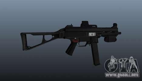 Submachine gun HK UMP 45 para GTA 4 tercera pantalla
