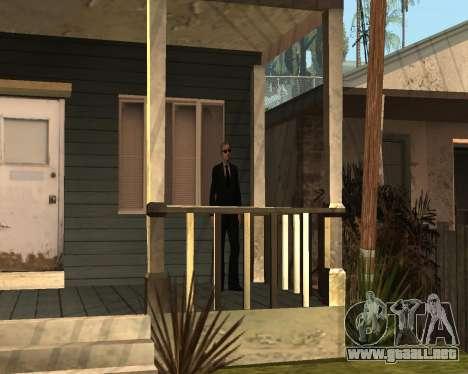 Guardia nacional CJ para GTA San Andreas segunda pantalla