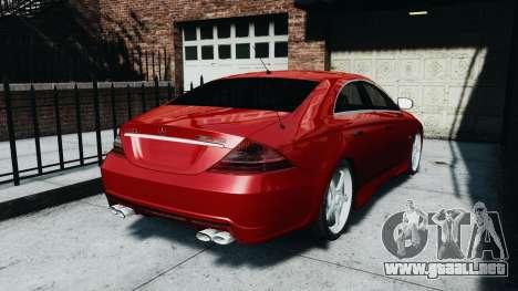 Mercedes-Benz CLS AMG para GTA 4 left