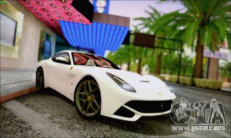 Ferrari F12 Berlinetta Horizon Wheels para GTA San Andreas left
