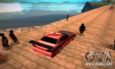Elegy Hybrid para GTA San Andreas vista posterior izquierda