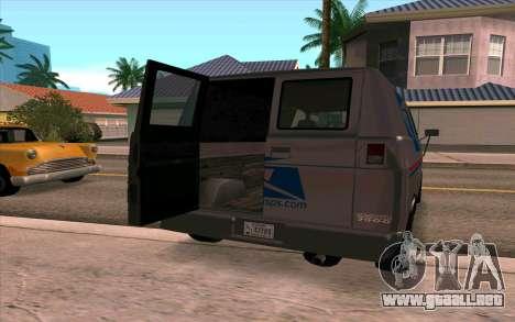 Burrito GTA 4 para GTA San Andreas left