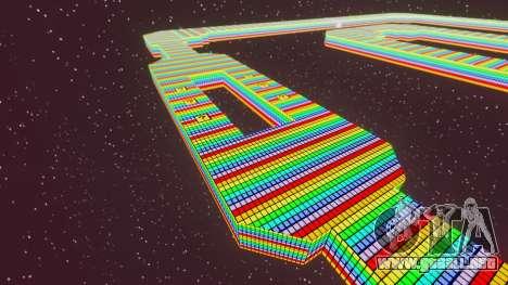 Camino del arco iris para GTA 4 adelante de pantalla