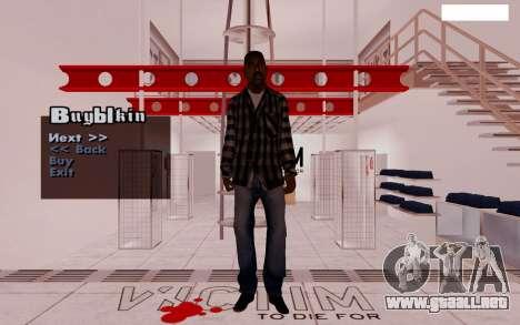 HD Pak pieles vagabundos para GTA San Andreas séptima pantalla