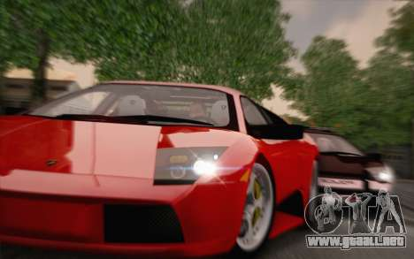 2005 Lamborghini Murciélago para GTA San Andreas left