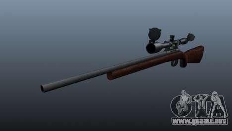 Rifle de francotirador deportes Winchester Model para GTA 4