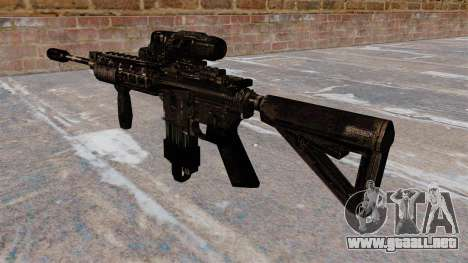 Carabina M4 automático alcance híbrido para GTA 4 segundos de pantalla