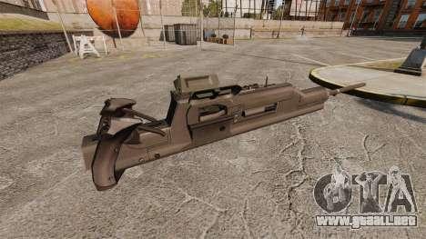 Ametralladora Maxim XM312 para GTA 4 segundos de pantalla