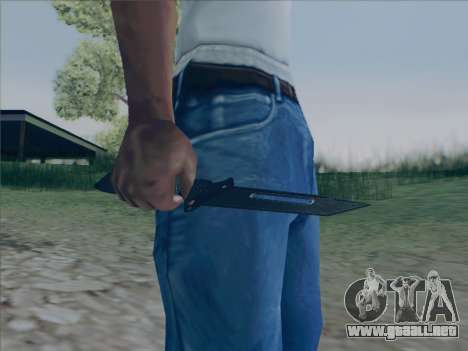 Battlefield 2142 Knife para GTA San Andreas