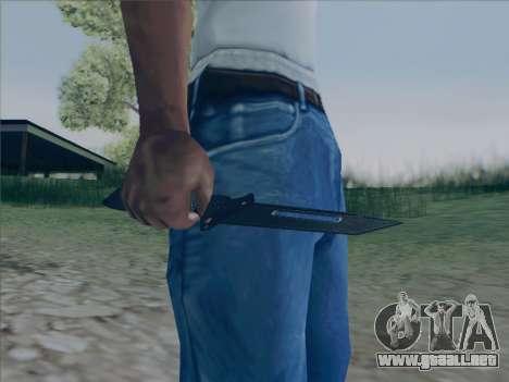 Battlefield 2142 Knife para GTA San Andreas