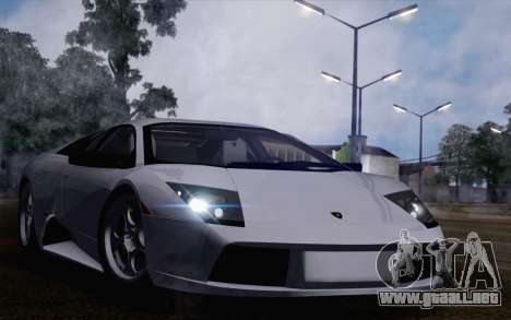 2005 Lamborghini Murciélago para la visión correcta GTA San Andreas
