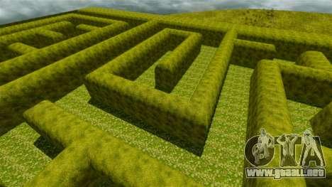Laberinto para GTA 4 quinta pantalla