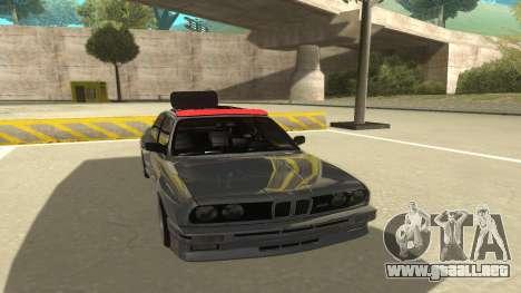 BMW E30 1991 para GTA San Andreas left