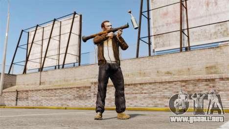 Lanzagranadas antitanque, Molotov para GTA 4 tercera pantalla