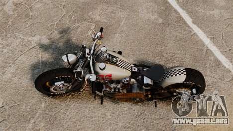 Harley-Davidson Knucklehead v1 para GTA 4 Vista posterior izquierda