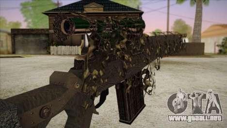 Sniper M-14 With Camouflage Grid para GTA San Andreas tercera pantalla