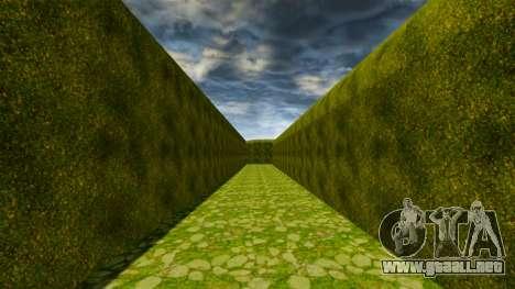 Laberinto para GTA 4 sexto de pantalla