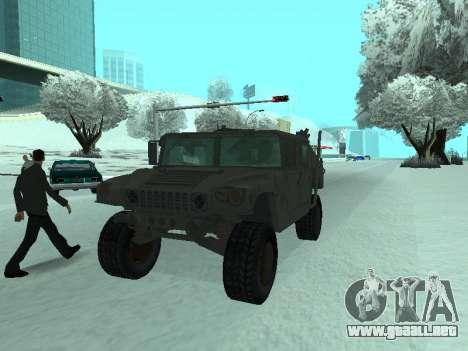 Hummer H1 del juego Resident Evil 5 para GTA San Andreas